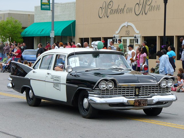 Old Cop Cars >> Old Police Car An Old Police Car At The 2008 Rooster Days