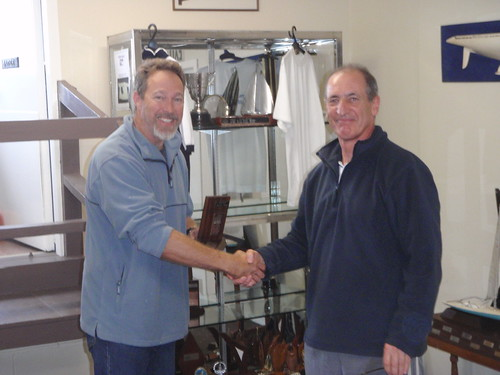 Don Harland winner of the 2010 Summer Series Trophy | by PLSC (Panmure Lagoon Sailing Club)