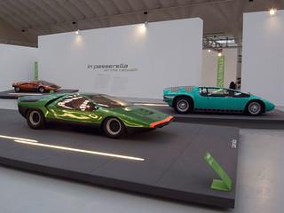 Marcello Gandini - Alfa Romeo 33 Carabo, 1968.