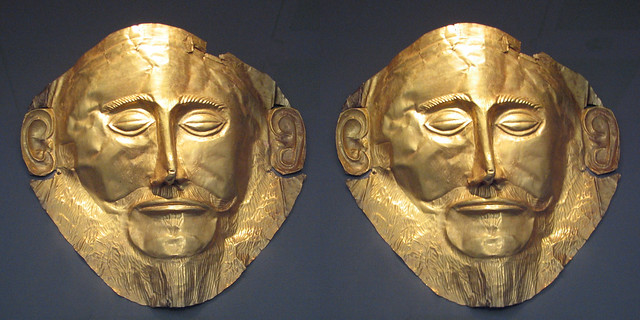 Mask of  Agamemnon (3D  Cross-View)