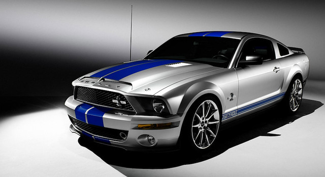 Ford Mustang Shelby >> Ford Mustang Shelby Cobra GT500KR front view | From Ford Aut… | Flickr