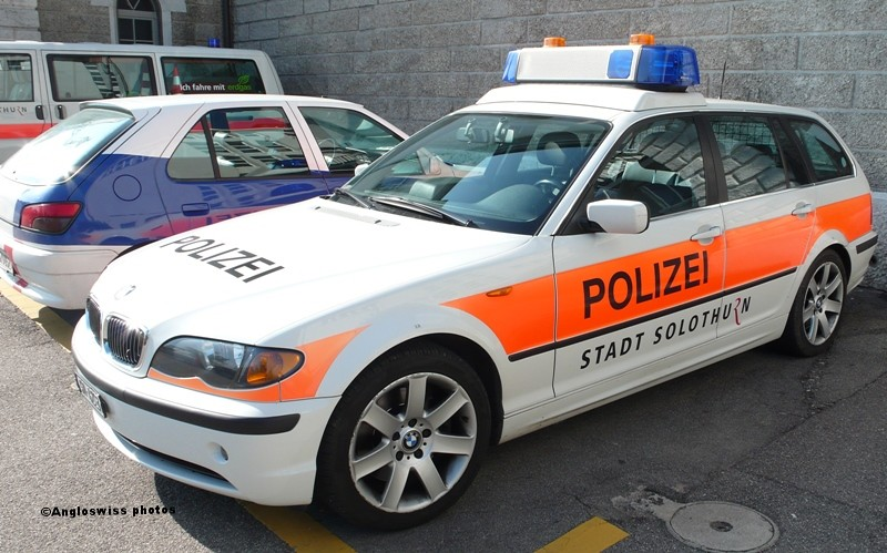 Solothurn Police Car