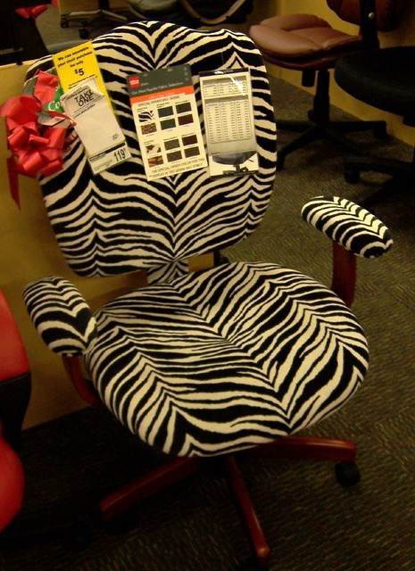 Super Zebra Print Office Chair Steve Flickr Caraccident5 Cool Chair Designs And Ideas Caraccident5Info