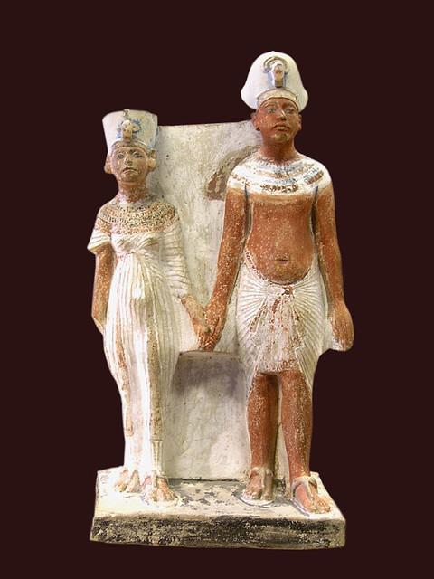 Amenhotep IV & Nefertiti, Amarna, Dynasty XVIII