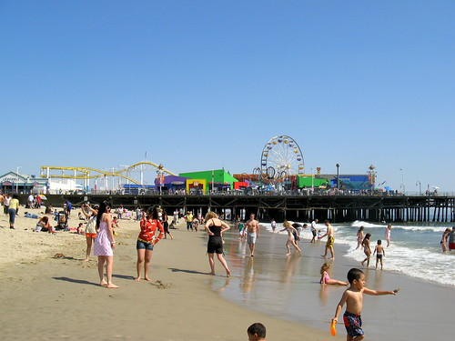 Santa Monica Pier | by HarshLight