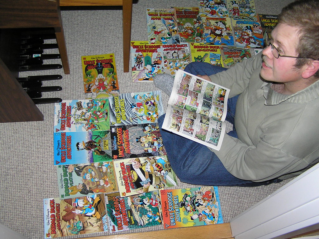 Reading Don Rosa comics