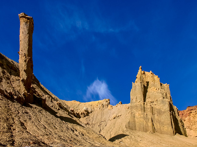 strange towers and castles sculpted by Nature