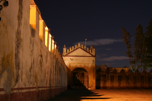 Atrio de la iglesia de El Carmen (Puebla, México)