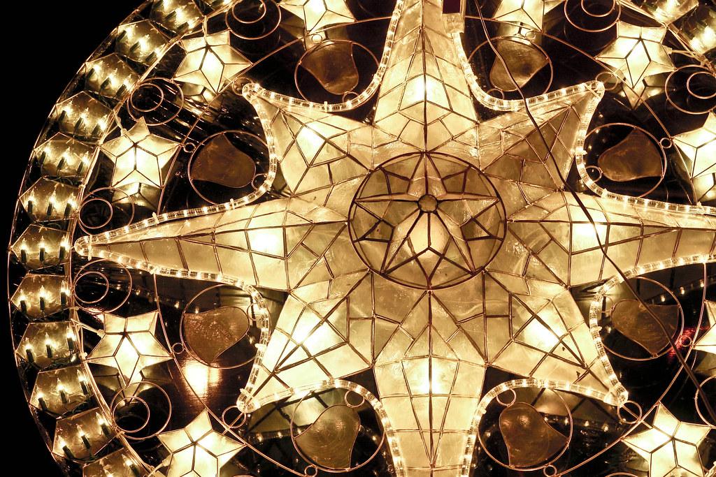 Christmas Lantern Made Of Capiz Seashells Philippines Flickr