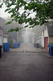 Foggy Alley (149 of 365-Project)