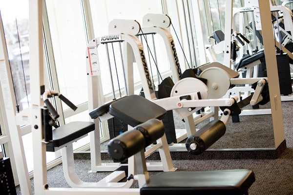 Fitness Center Icarian Strength Machine at Colonnade Boston Hotel