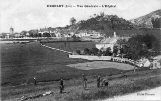 L'ancien hôpital d'Orgelet