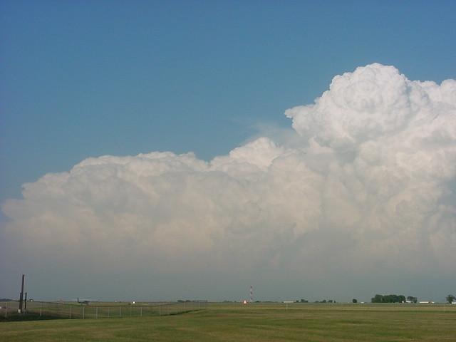 June 10, 2002 - Severe Thunderstorm, Awesome Thunderheads, East of Kearney Nebraska