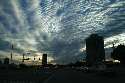 sky oklahoma clouds sunrise driving okc oklahomacity 2007 nwexpy xti ©jasonbondy
