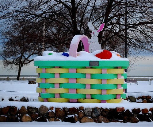It's another snowy Easter weekend in Lorain | by ronnie44052