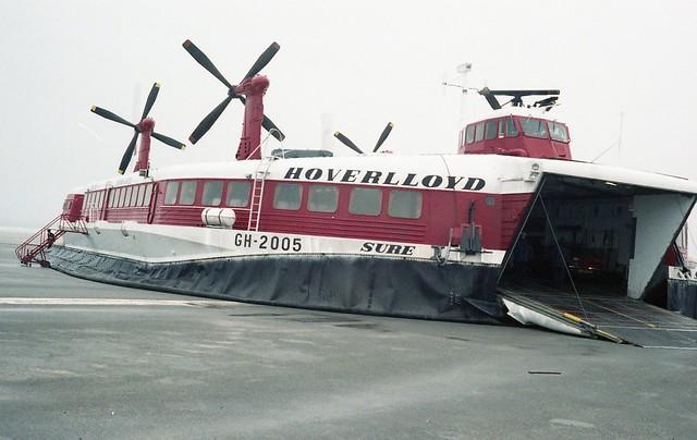 Hovercraft GH-2005 SURE - Type SR-N4