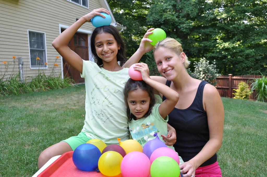Au Pair USA: Water Balloon Fight | www interexchange org
