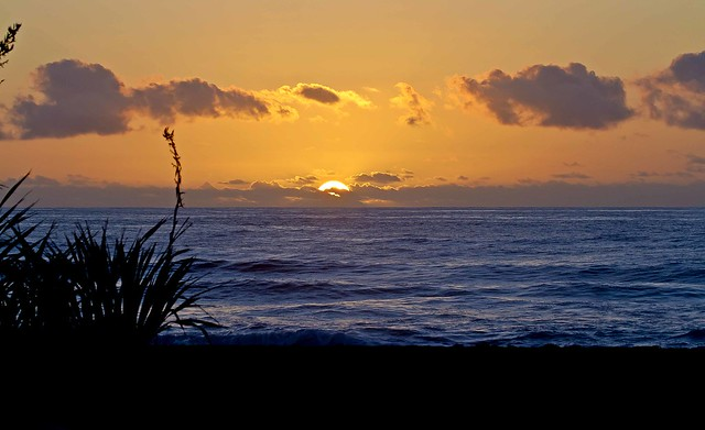 Sunset  Punakaiki _2901