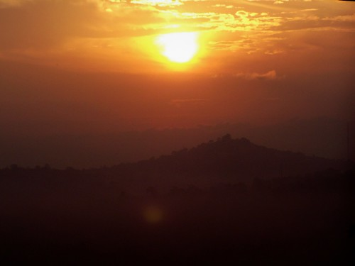 africa city morning travel sunrise hills uganda kampala geoafrica
