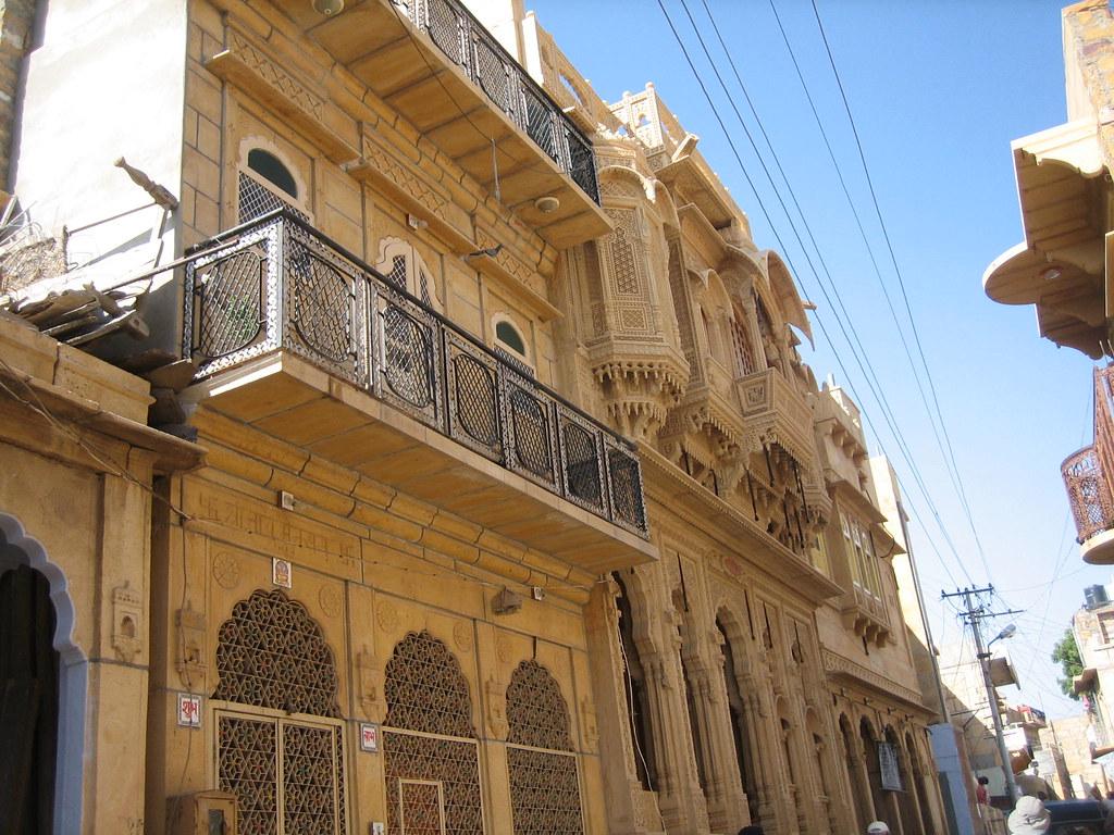 Haveli | Les haveli sont les maisons des riches marchands. J… | Flickr