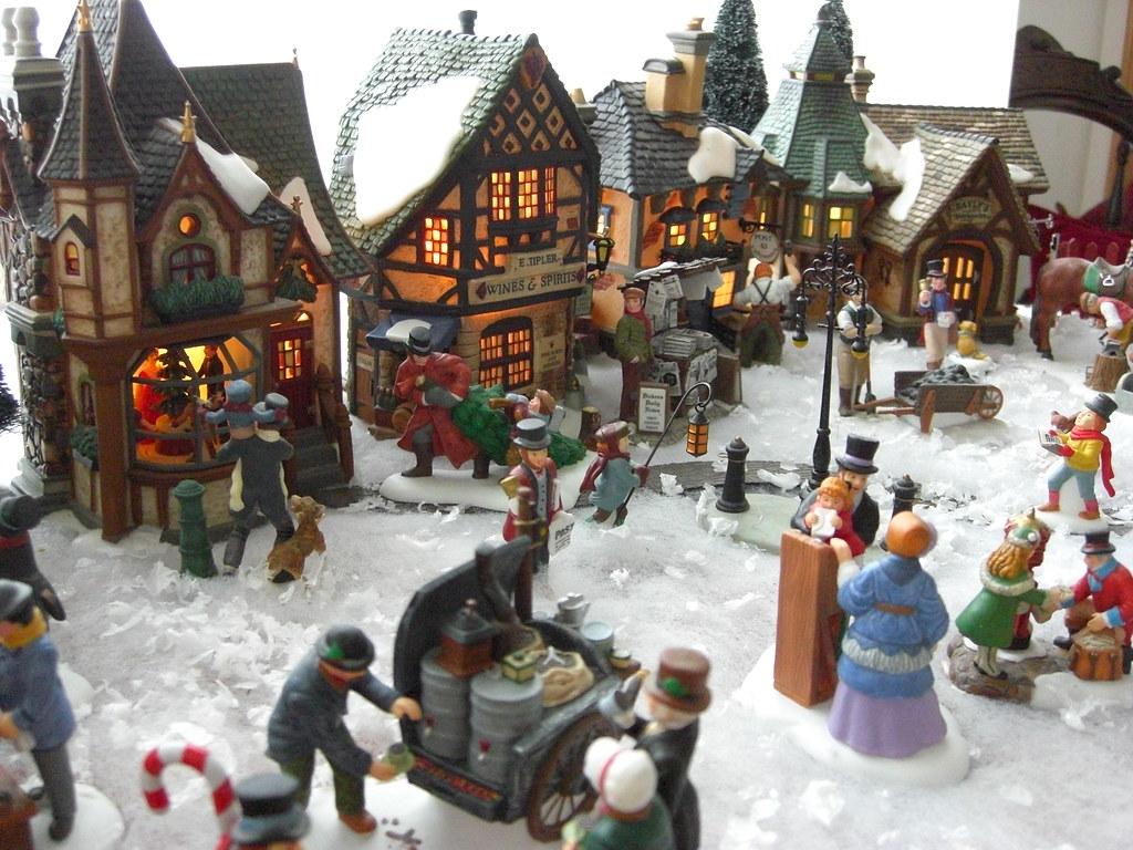 Miniature Christmas Village.Miniature Christmas Village Sherwood411 Flickr