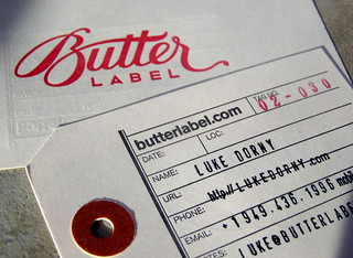 Butter Label | by dailypoetics