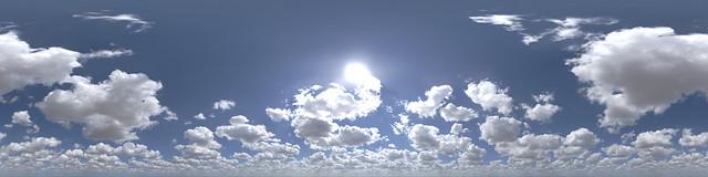 Hyperfocal HDRI Skies: Cotton Ball Alliance | One of the flu… | Flickr
