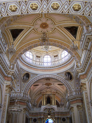 Interior de la Iglesia de los Remedios