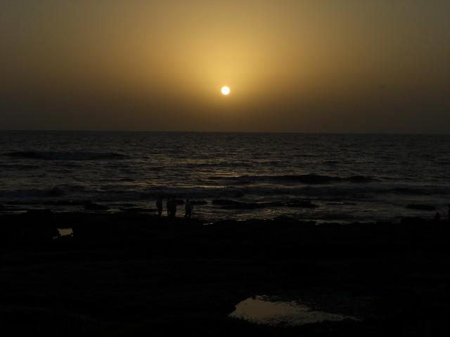 Sunset at Worli Sea Face