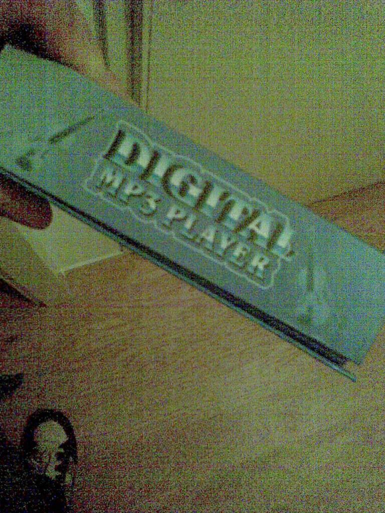 Een digitale MP3-speler