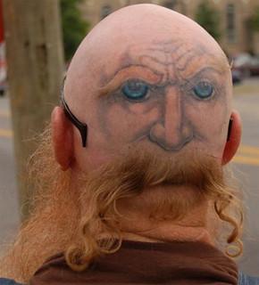 Crazy Tattoos How Do I Look Like Vampire Hunter D Flickr