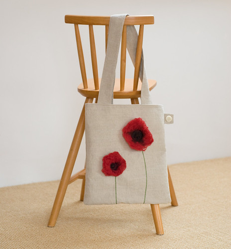 finished Poppies bag | by raspberryfairy