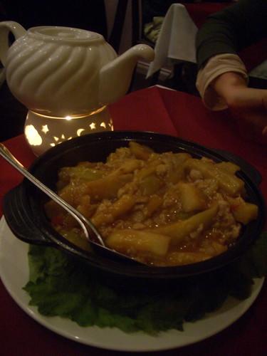 Eggplant hotpot with Szechwan sauce | by mutemonkey
