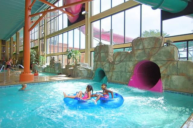 Mayan Adventure Indoor Waterpark at The Waverton Hotel (Du