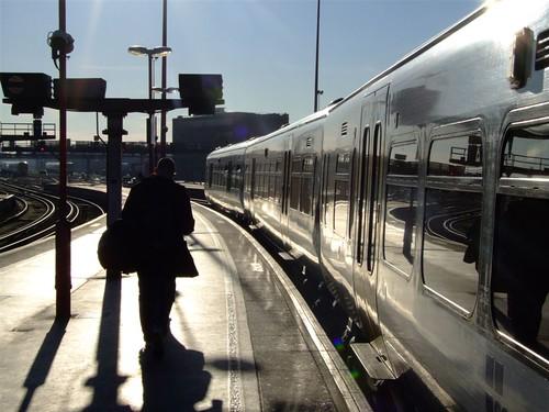 Morning train to Eltham | by Elsie esq.