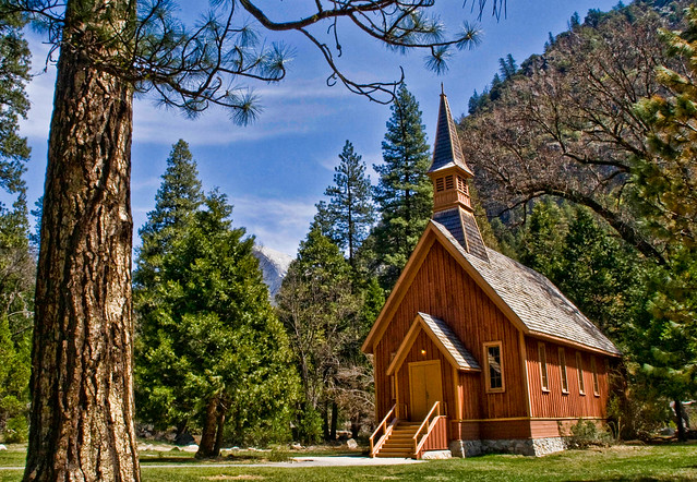 The chapel, Yosemite