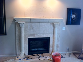 Fireplace Tuscan Style | by Vicon Eco Systems Construction