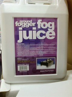 Fog Juice at Cosco Contains Ethylene Glycol