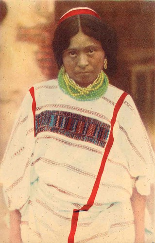 Triqui Woman Old Postcard | by Teyacapan