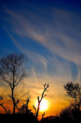 Sunset at GT Road 2, Pakistan | by ..friend_faraway..