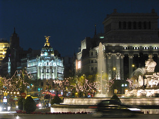 Christmas at Plaza de la Cibeles | by beamillion