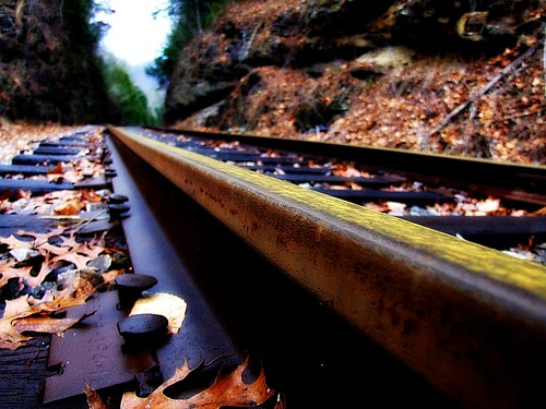 railroad trees mountains leaves closeup rural geotagged countryside leaf woods dof bokeh kentucky perspective tracks backroads onwhite picnik smalltown diebahn fallenleaves onblack countryroads peopleschoice aroundthebend cloudyday viewonblack southeasternkentucky middlesborokentucky diamondheart flickrhearts flickrenvy flickraward globalvillage2 bellcountykentucky thebluegrassstate viewonwhite geo:lat=36694507 geo:lon=83683634 5for5 qualitypixels throughthehill