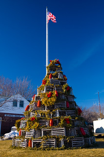 Lobster Pot Christmas Tree | by brentdanley
