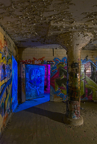 urban abandoned night ruins flickr texas meetup fort packing meat worth swift exploration urbex