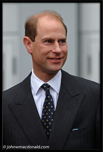 HRH Prince Edward, Earl of Wessex   by johnwmacdonald