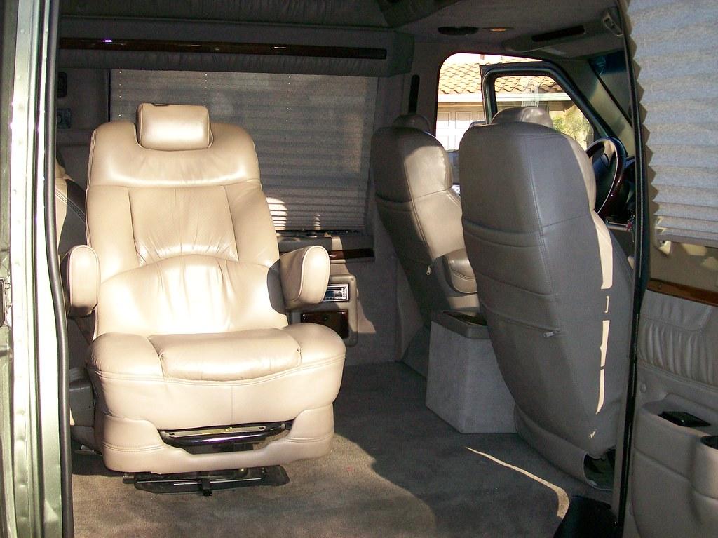 new van photo's 104 captain chair swivels | hudsonparker
