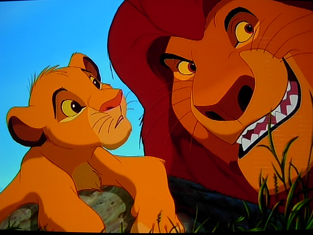 Simba Mufasa In Disneys The Lion King Image Taken From