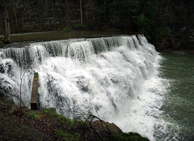 Waterloo Falls, Spring Creek, Overton County, Tennessee 3