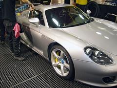 Porsche Carrera GT. Secado con aire