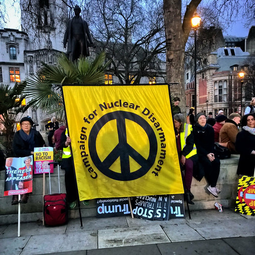 CND at the Stop Trump Rally | by garryknight